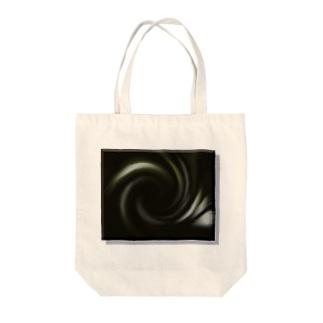 電磁波カット/宇宙効果SpaceArt「音なき世界」 トートバッグ