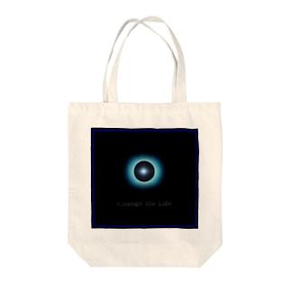 「Passing」 Tote bags