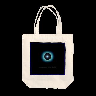 電磁波カット/宇宙効果SpaceArt「Passing」 トートバッグ