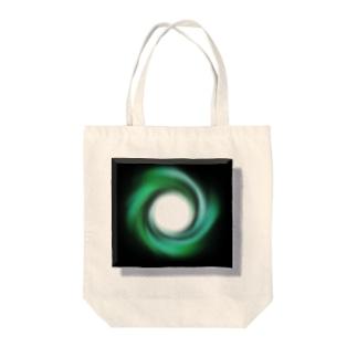 電磁波カット/宇宙効果SpaceArt「時の音色」 トートバッグ