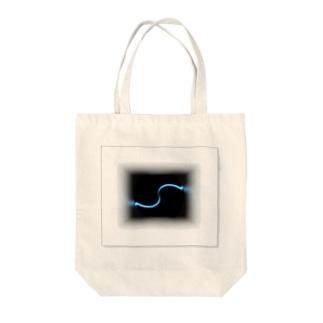 電磁波カット/宇宙効果SpaceArt「ひかりアンサンブル」 トートバッグ