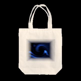 宇宙の贈りもの★YasueUenishiの電磁波カット/宇宙効果SpaceArt「ミステリー宇宙」トートバッグ