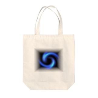 「瞑想エンブレム」 Tote bags