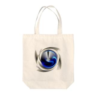 電磁波カット/宇宙効果SpaceArt「最果て銀河」 トートバッグ