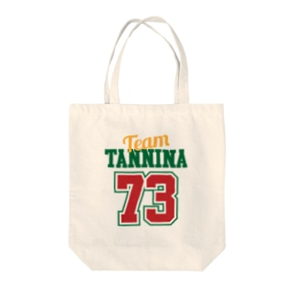TEAM TANNINA GREEN トートバッグ