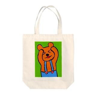 hiroのくまっち Tote bags