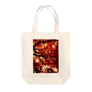 赤と黒のイメージ01 Tote bags