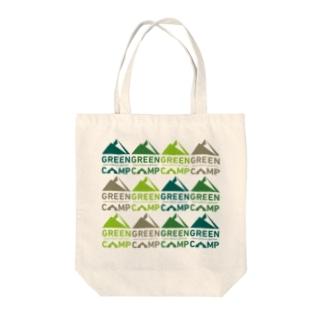 GREENCAMP-01 Tote bags