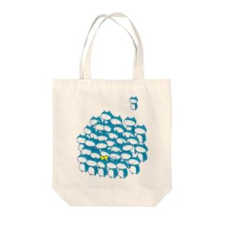 コキン Tote bags