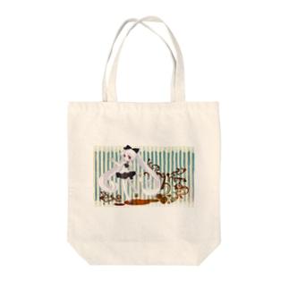 エリィゼ Tote bags