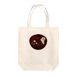 しるくま(透過) Tote bags