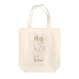 井上アコのGO!!GIRLS!! Tote bags