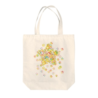STAR drop Tote bags