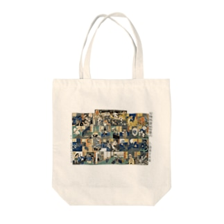 百種怪談妖物双六【浮世絵・妖怪・双六】 Tote bags