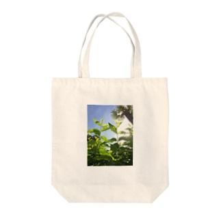 あさ Tote bags