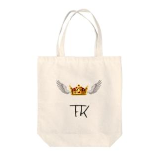 FK(Flying King) ブランドロゴ Tote bags