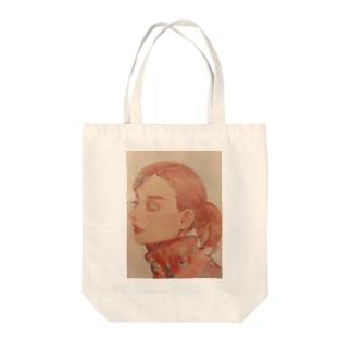 Audrey Hepburnに尊敬の意を込めて Tote bags