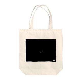 ブラックにゃむ Tote bags