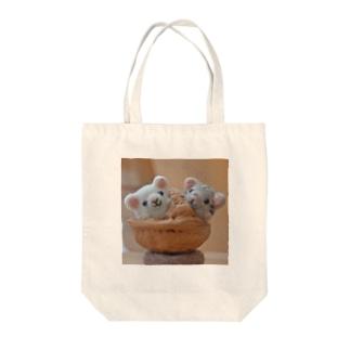 ハムスター Tote bags
