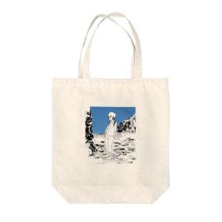 さがしてる Tote bags