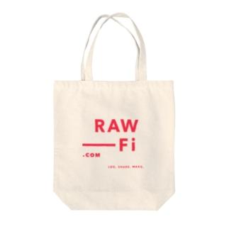 RAW-Fi Logo Tote bags