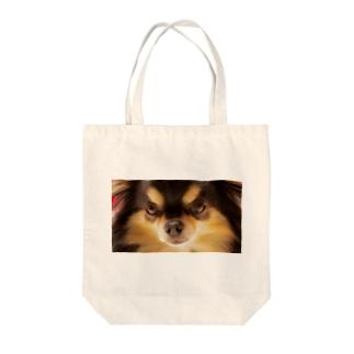 チワワ(ブラックタン) Tote bags