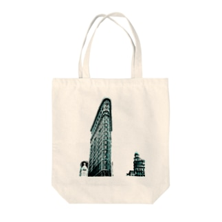 Berenice Abbott: Flatiron Building, Broadway and Fifth Avenue, New York, 1938 Tote bags