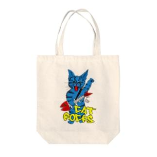Nobigao キャット・ロックス Tote bags
