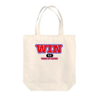 WIN ロゴ Tote bags