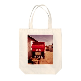 POST OFFICE AT THE ALAMO Tote bags