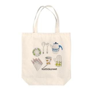 北欧キッチン Tote bags