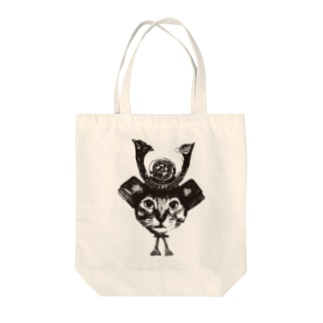 Nobigao猫将軍 Tote bags