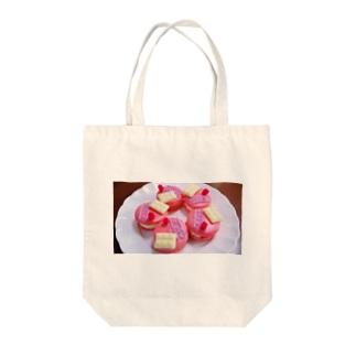マカロン Tote bags