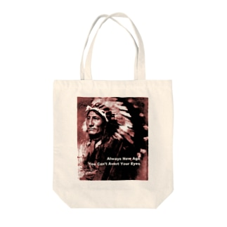 Always New Age. You Can't Avert Your Eyes. Tote bags