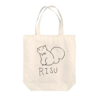リス伊豆クール Tote bags