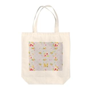 Ellieのflower-m Tote bags