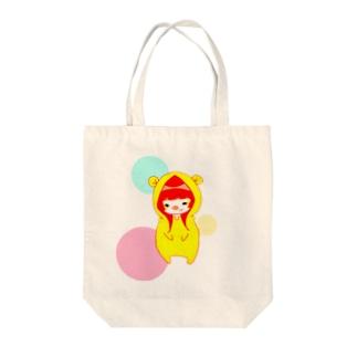 ぶーちゃん Tote bags