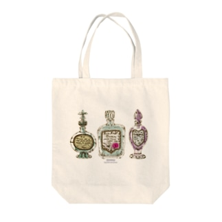 perfume bottle Tote bags