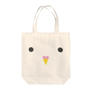 ハトガオ Tote bags