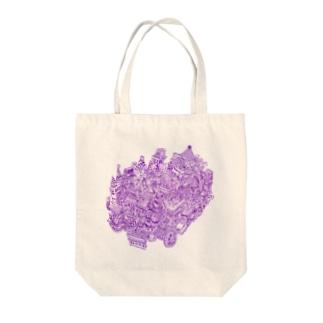 ごちゃ横町 Tote bags