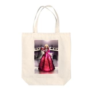 闘姫 Tote bags