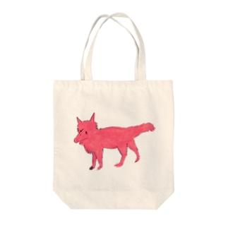 おおかみちゃん Tote bags