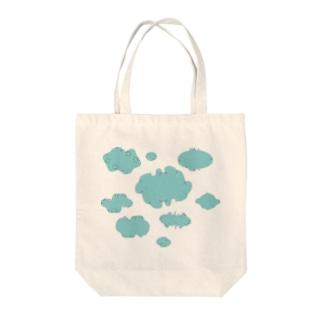 浮雲 001 Tote bags