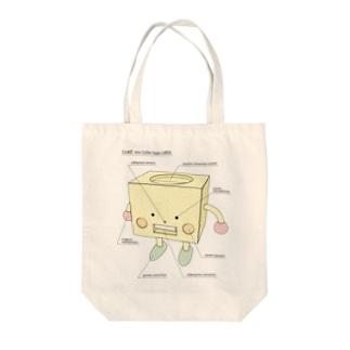 キュー坊 Tote bags