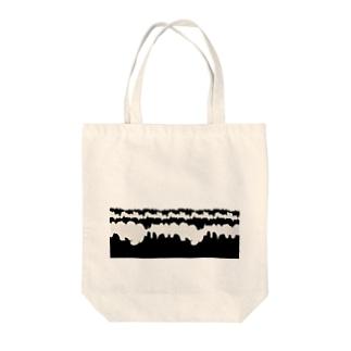浮雲 002 Tote bags