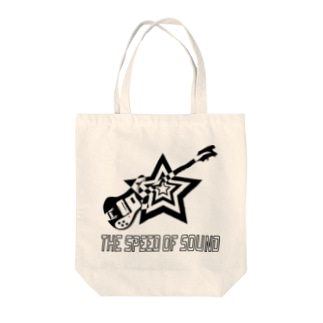 THE SPEED OF SOUND Tote bags