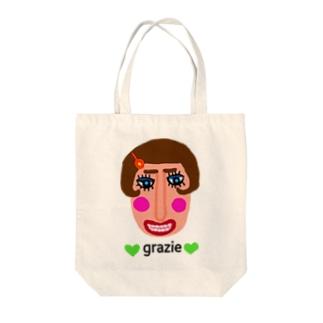 グラッチェ♥ Tote bags