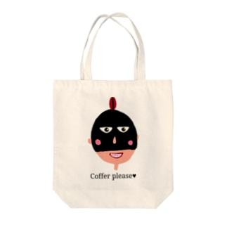 Bush615のcoffer please♥ Tote bags