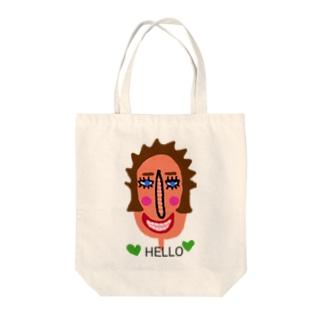 Hello♡ Tote bags