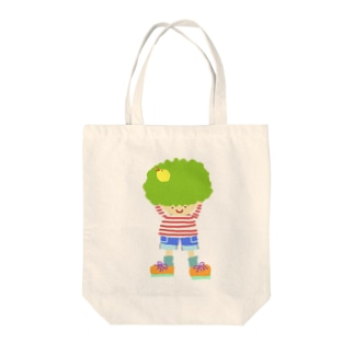 ブロッコリーくん Tote bags